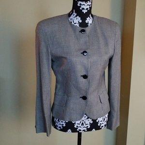 Christian Dior houndstooth blazer